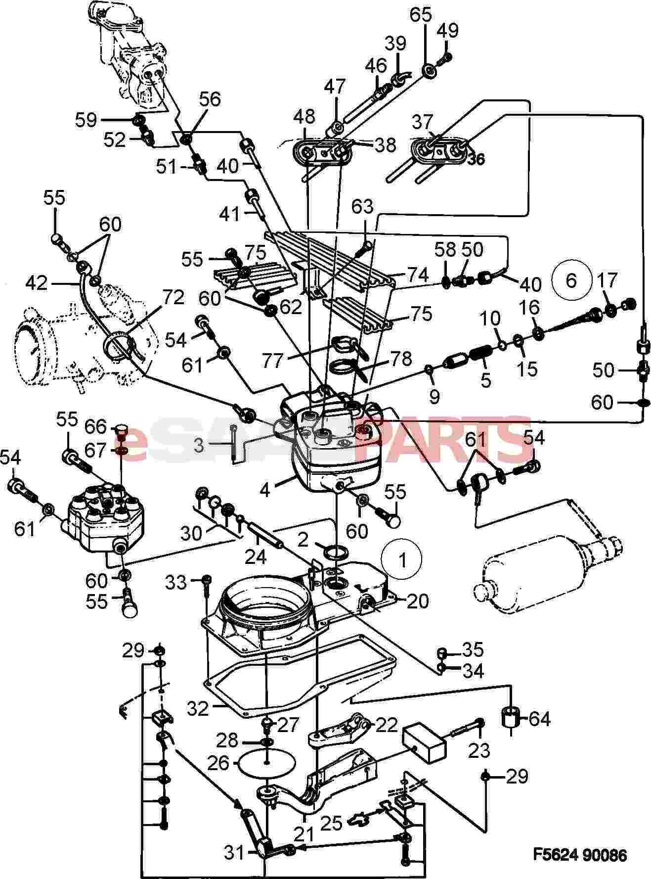 4443883 saab seal genuine saab parts from esaabparts com rh esaabparts com Fuel Injector Diagram saab 9-3 fuel system diagram