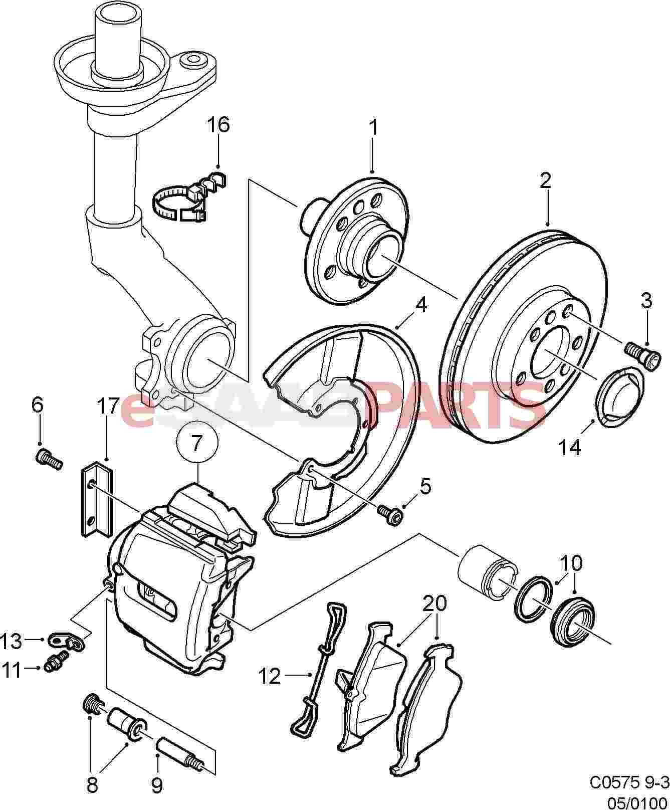 saab brakes diagram 4 1 artatec automobile de \u2022saab brakes diagram images gallery