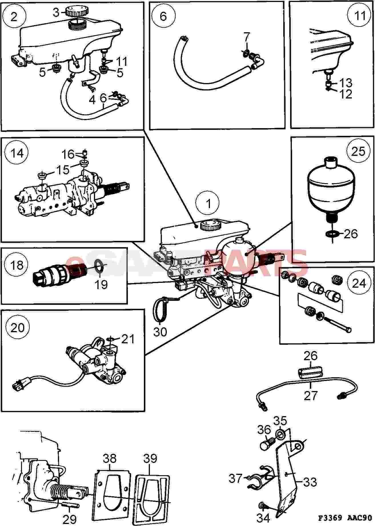 1995 saab 9000 parts diagram  saab  auto parts catalog and