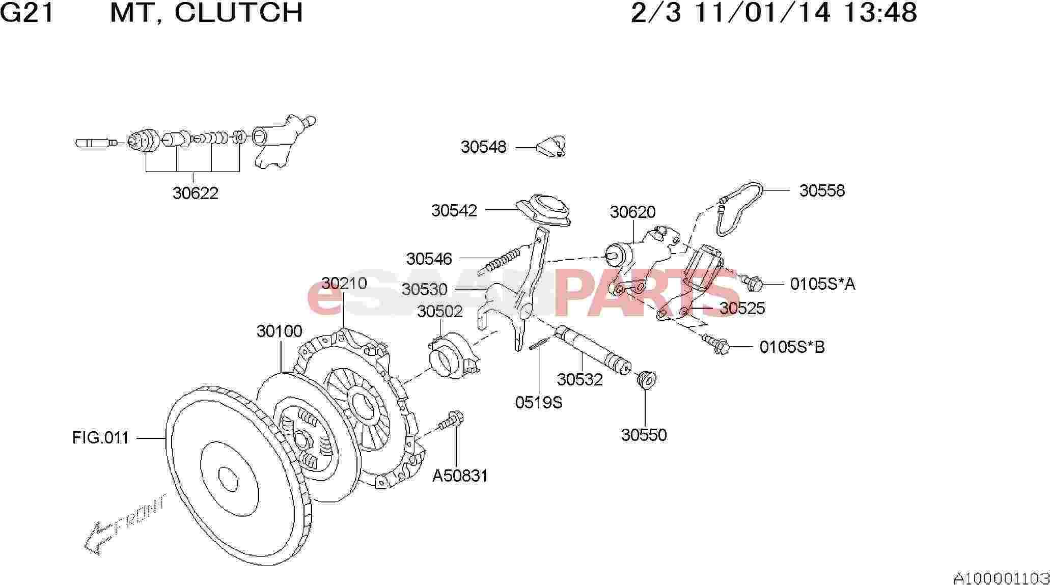 eSaabParts – Diagram Of An Engine Ej205