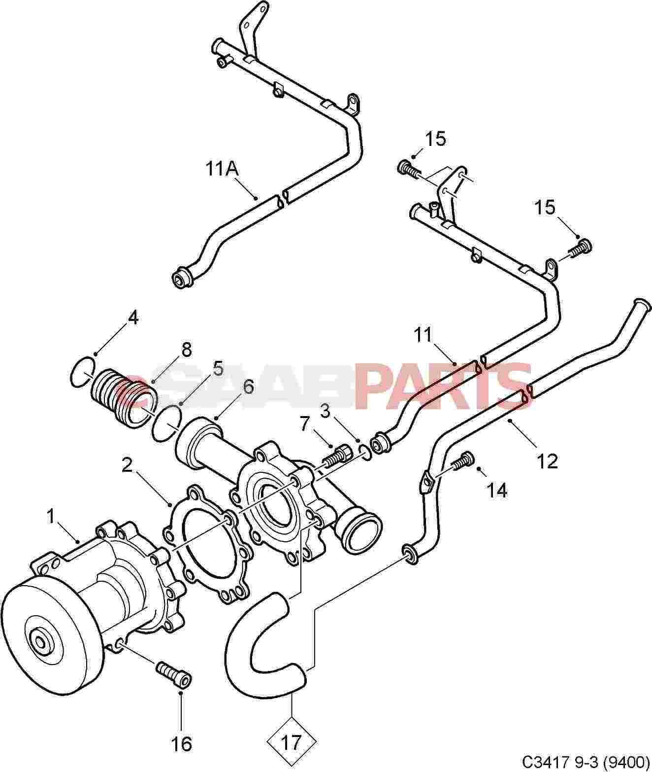 4 9 Cadillac Engine Intake furthermore Ford 3 5l Engine Bank 1 in addition Showthread additionally 48px0 Chevrolet Silverado 1500 Knock Sensor Located together with 2003 Saab 9 3 Convertible Parts Diagram. on crankshaft sensor location saab 9 5