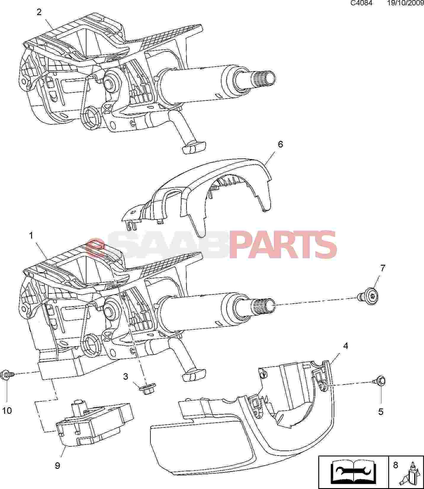 Saab 900 Serpentine Belt Replacement  Engine    Diagram    And