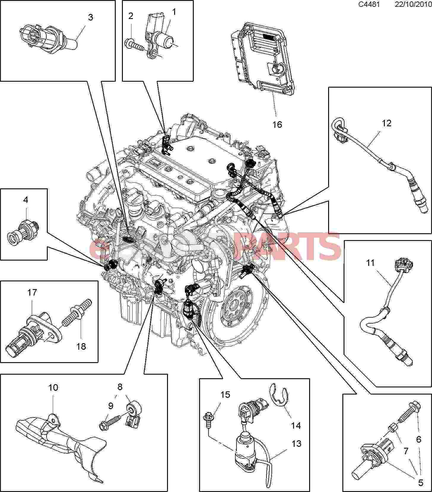 12621649 saab pressure sensor genuine saab parts from esaabparts