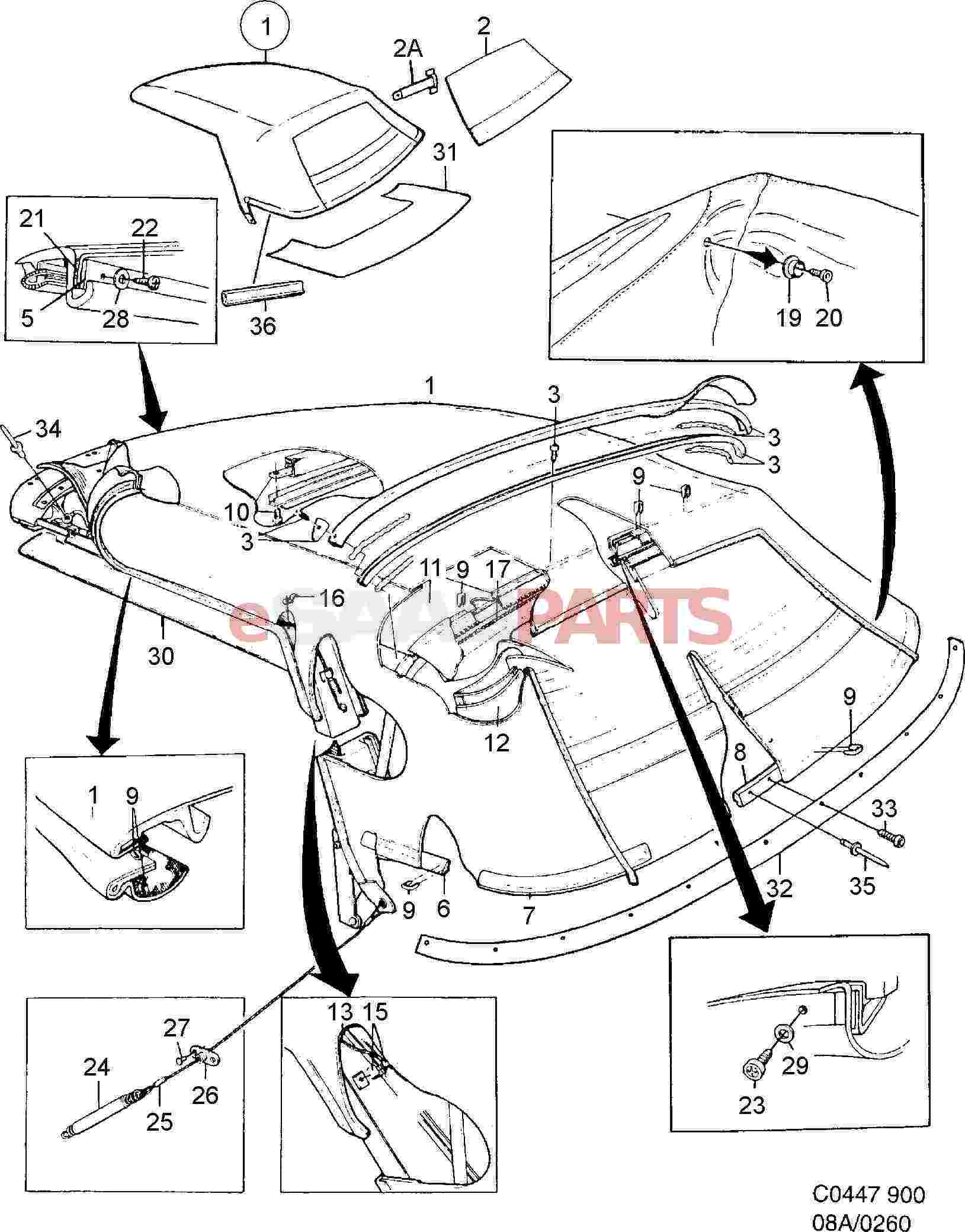 8840068  Saab Screw