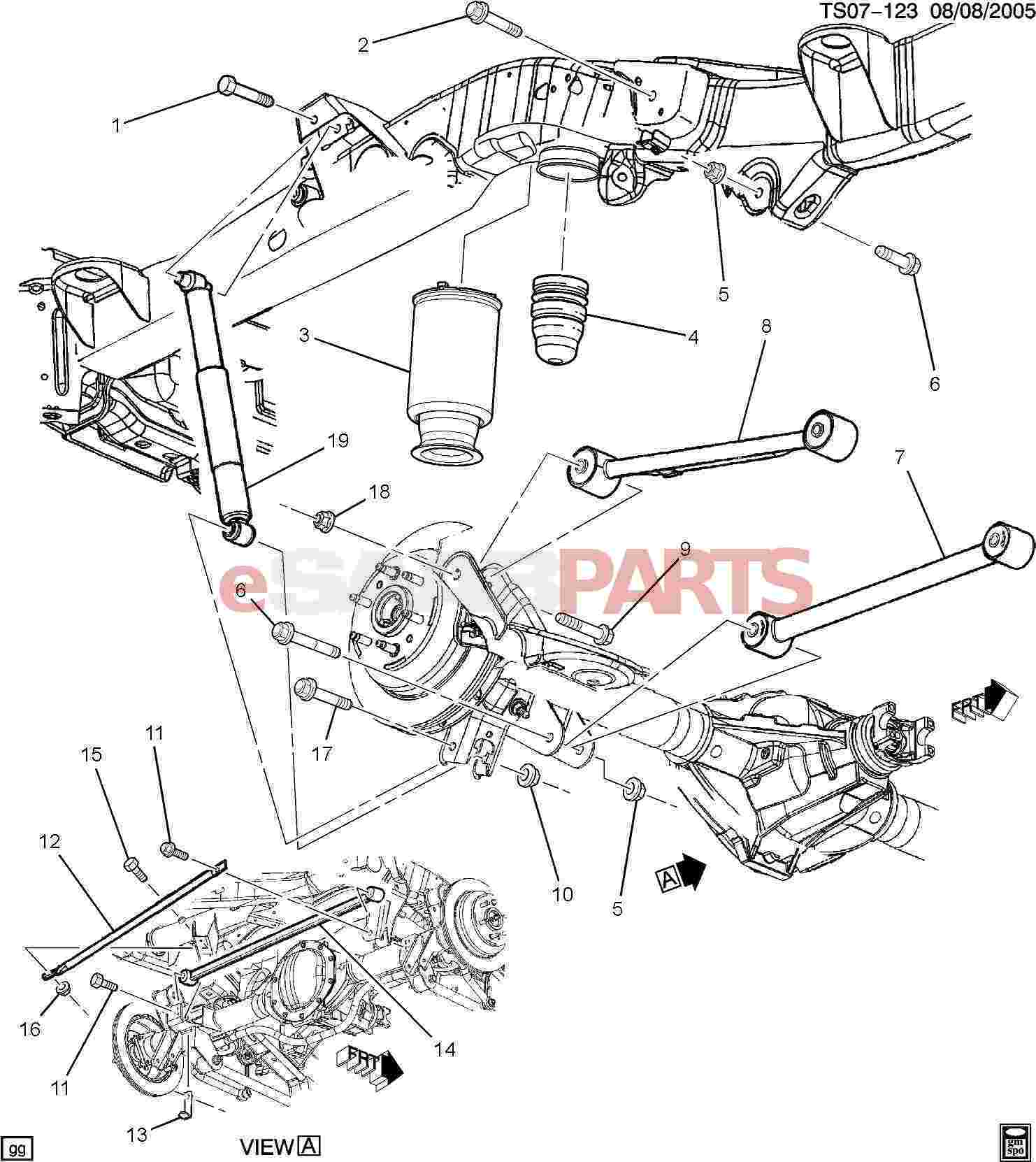15125539 saab shock absorber rear genuine saab parts from rh esaabparts com saab 9000 front suspension diagram saab 93 suspension diagram