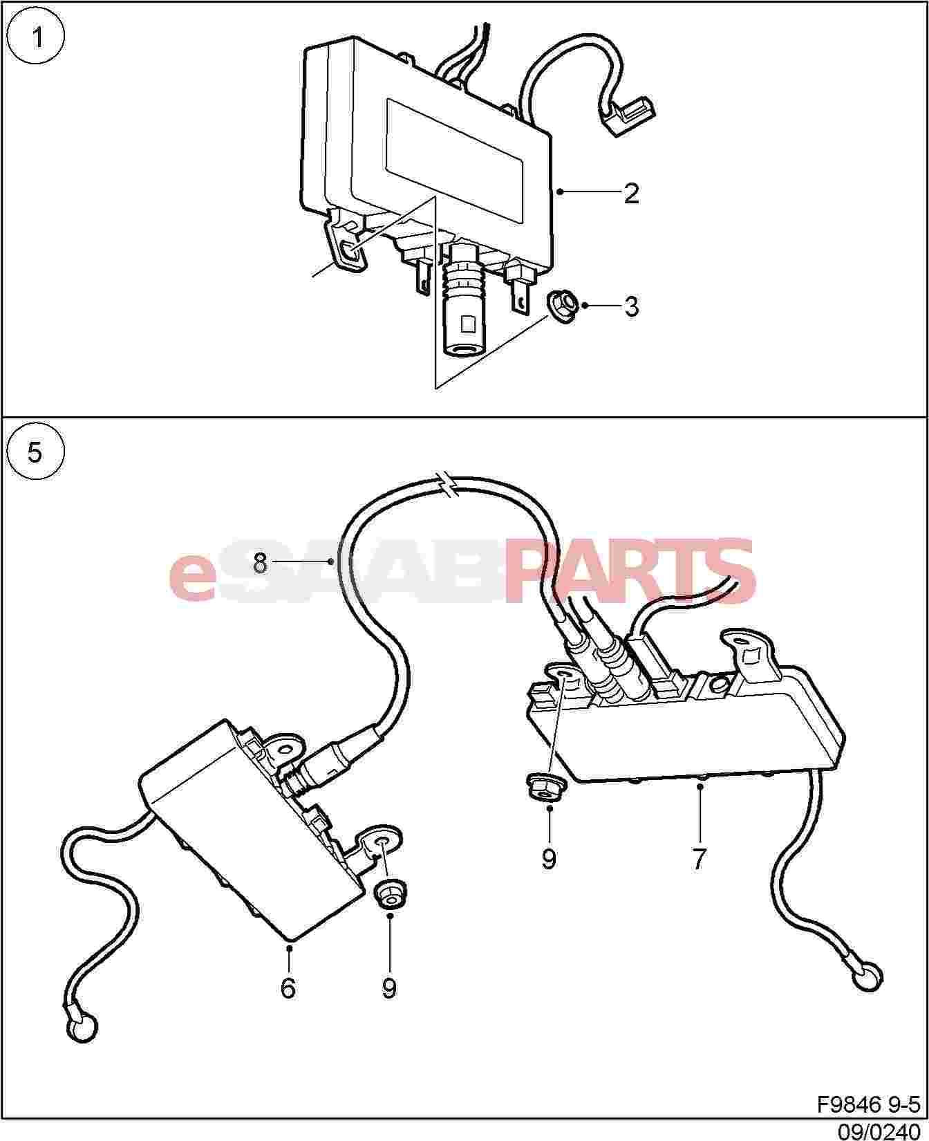 Saab 9 5 Wiring Diagram Electrical Sets Antenna