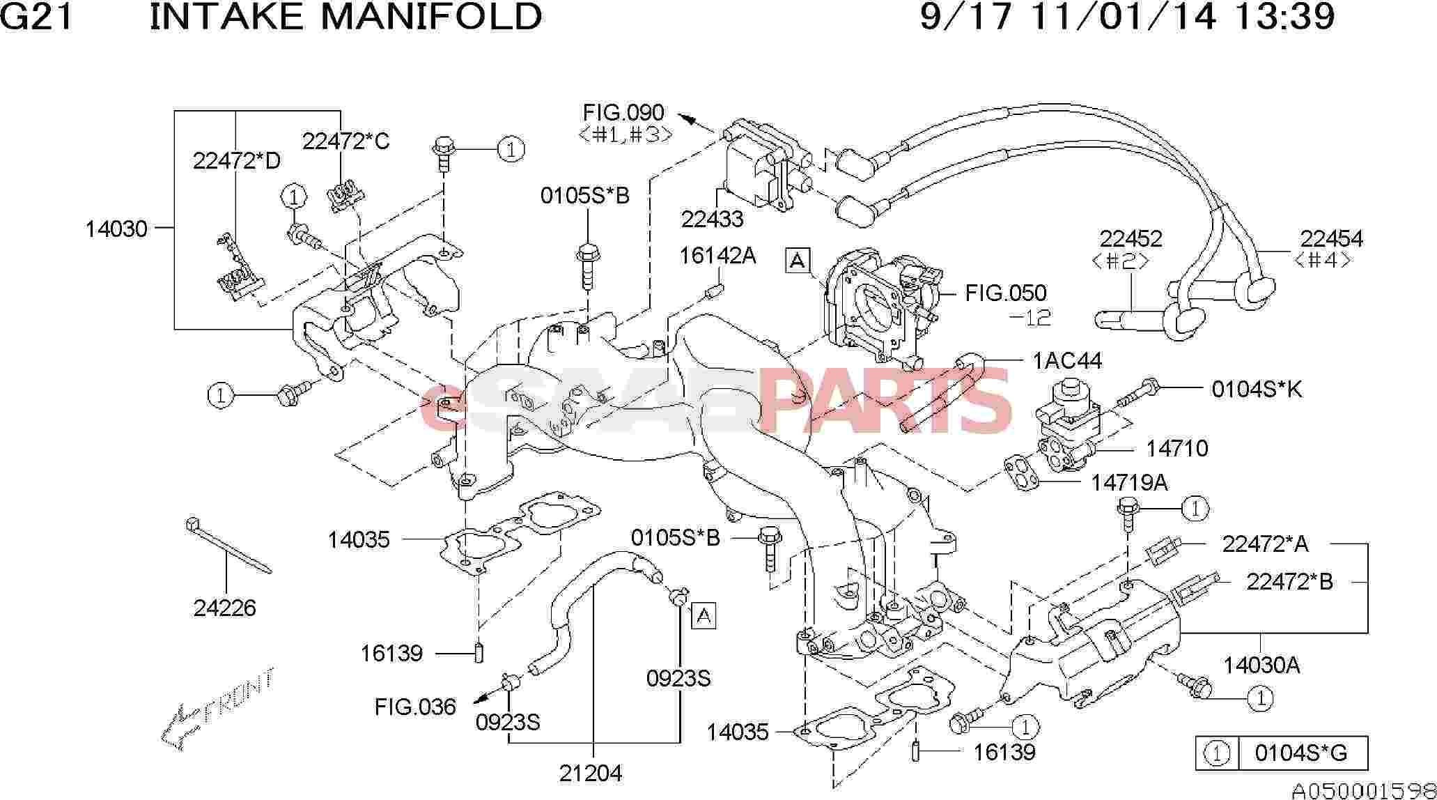 32005963  saab supporter-high tension cable