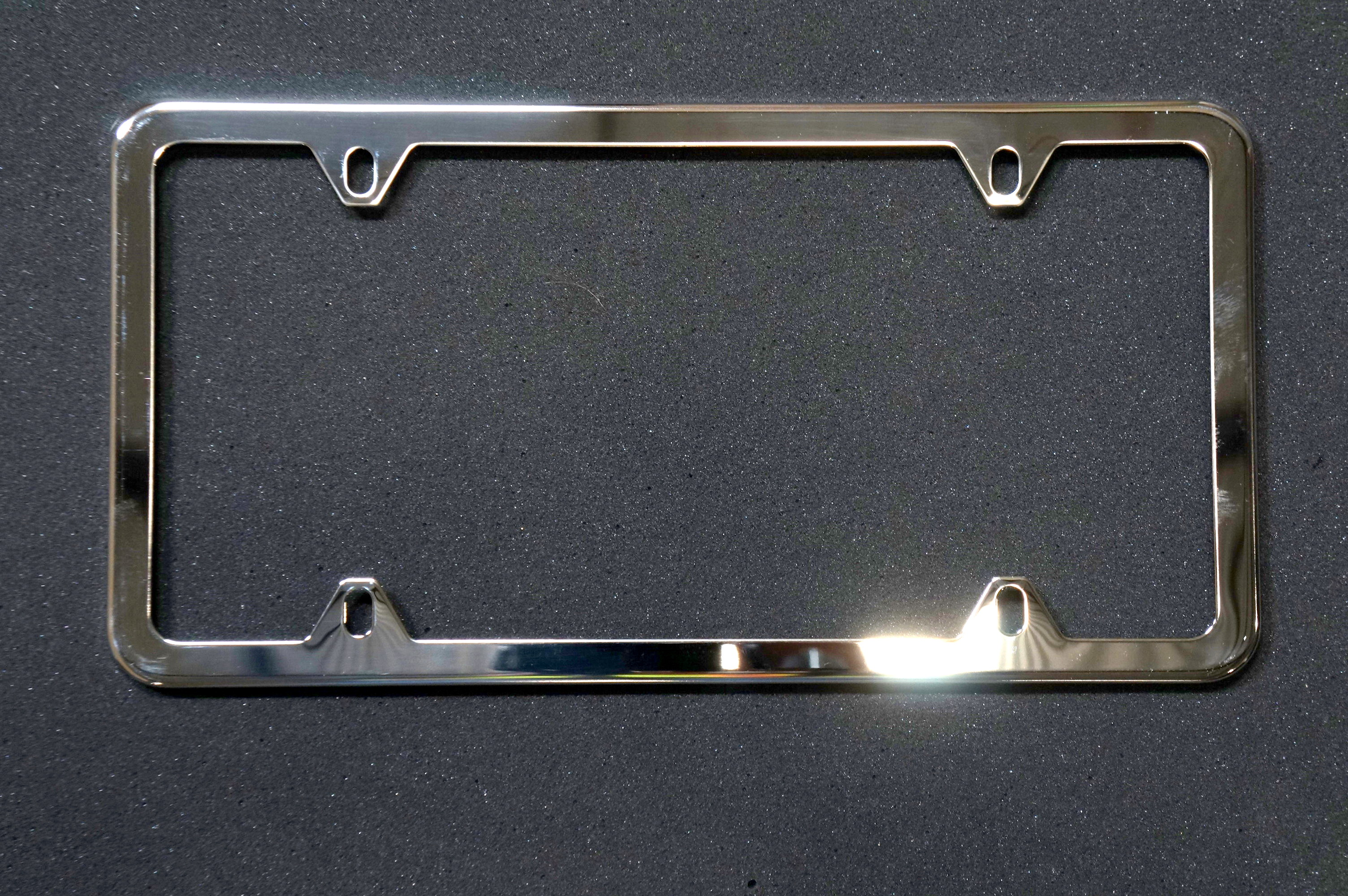 License Plate Frame (Silver)