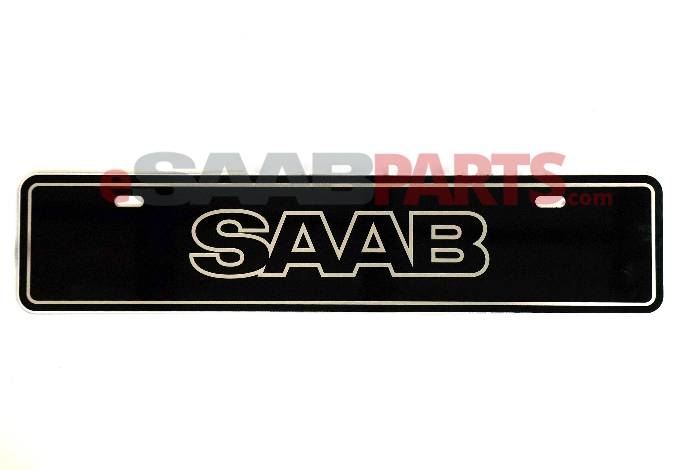 Euro Vanity Plate (SAAB Logo)