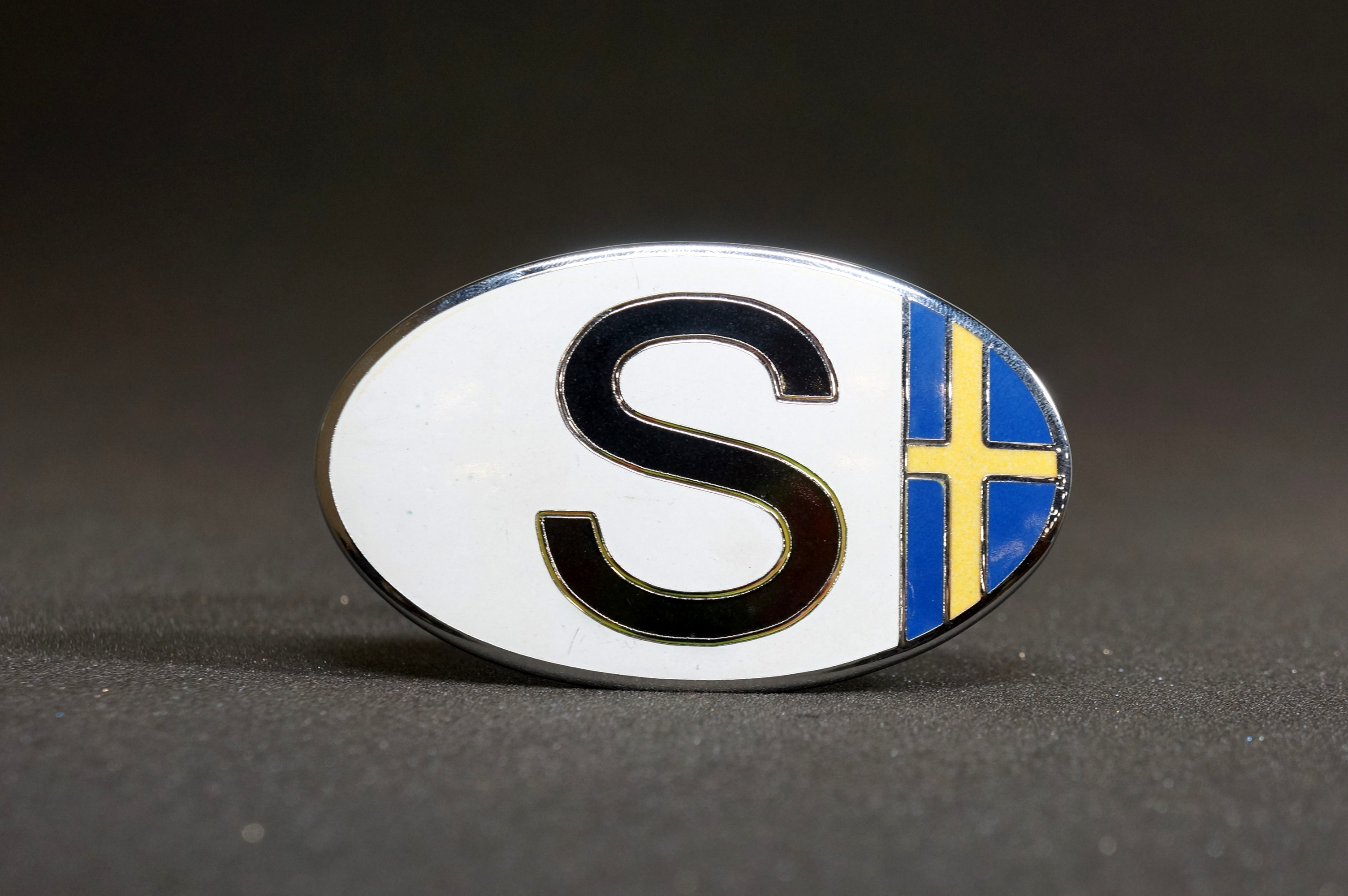 Euro Badge SE Sweden Flag Emblem