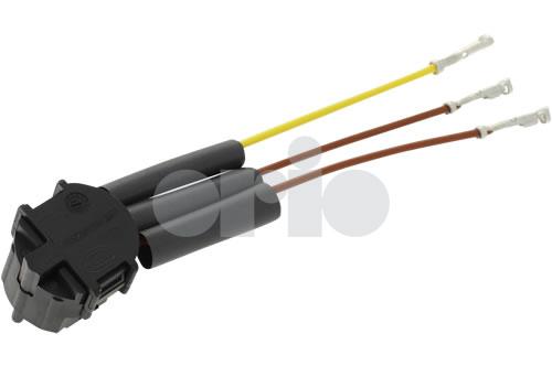 12762390  Saab Headlamp Wiring Repair Kit  03-07 9-3 Halogen  H7