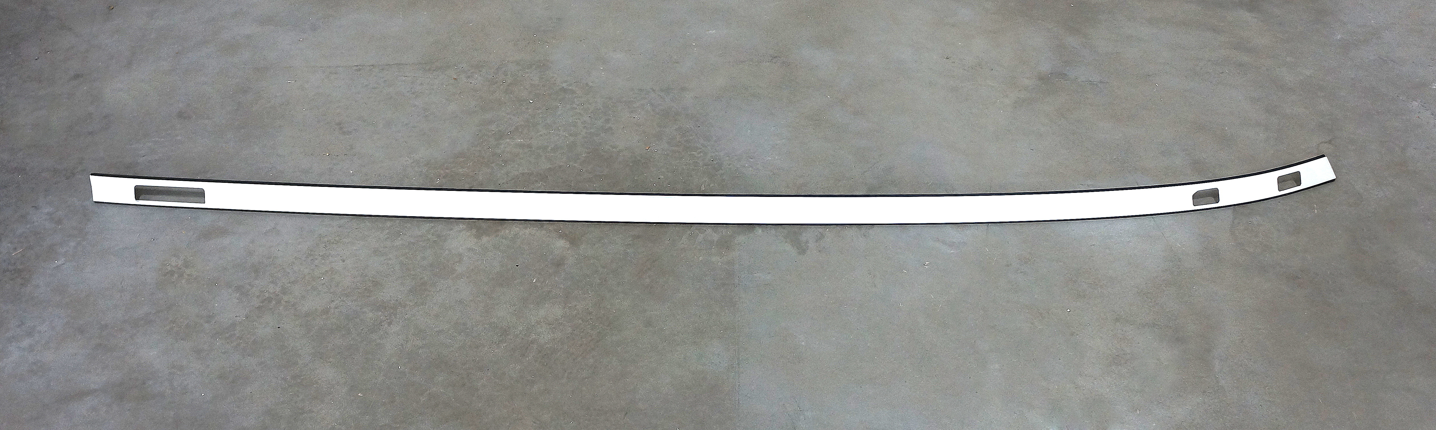 LH Roof Molding/Plate for Saab 9-3 SportCombi w/ Roof Rail (Unpainted)