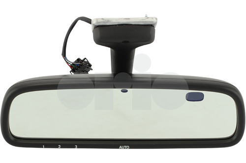 Auto-Dimming Rear View Mirror (w/ Homelink Garage Opener and w/o Compass)