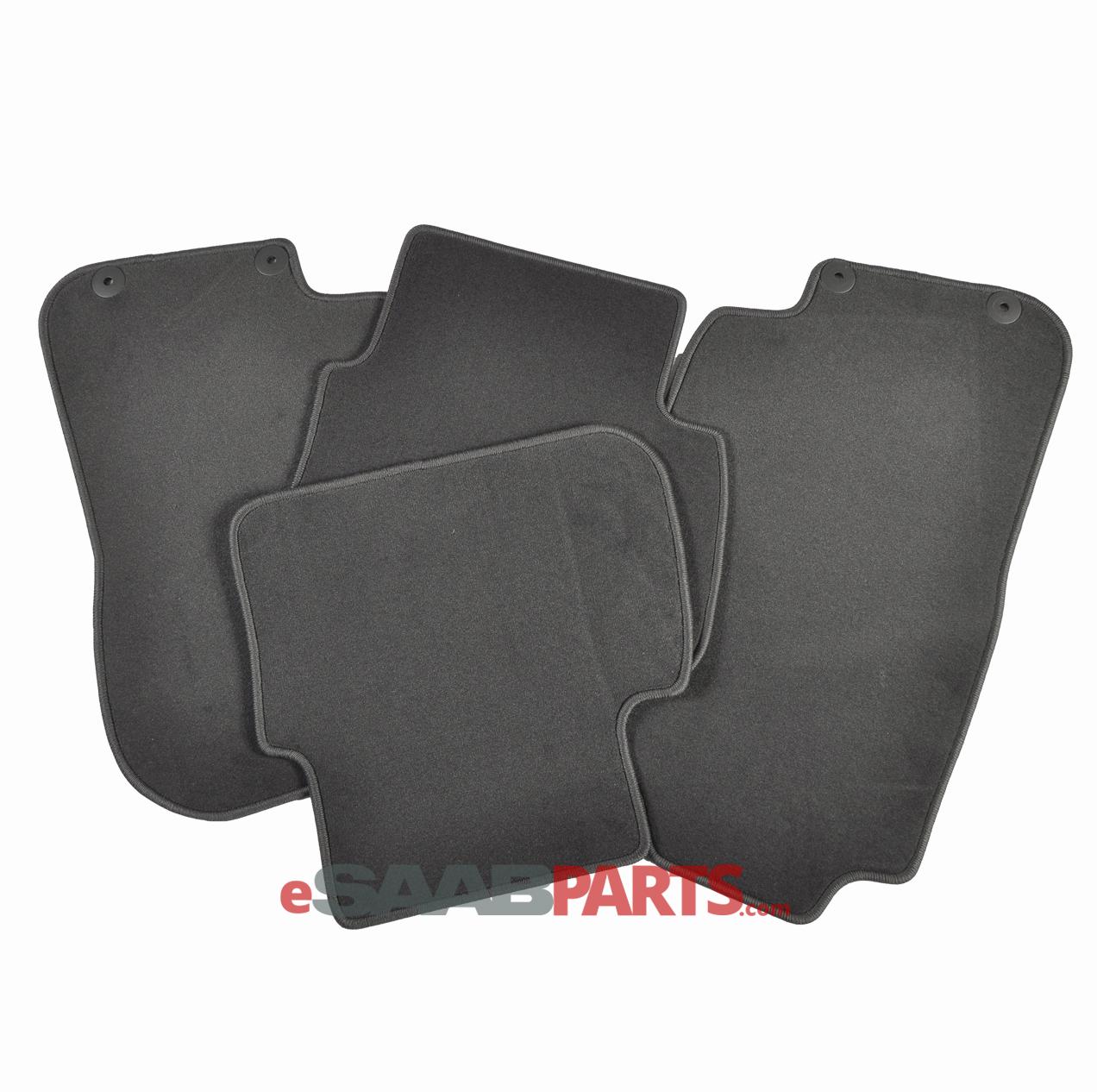 Floor Mats Set - Carpet (Black)