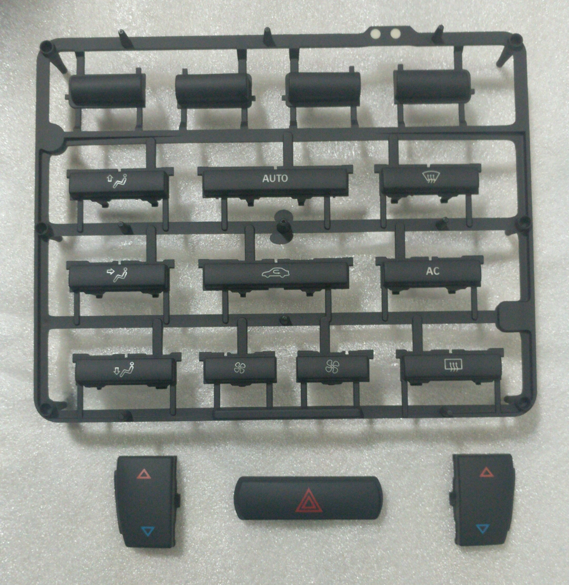 Button Kit - Climate Control (without Heated Seats)