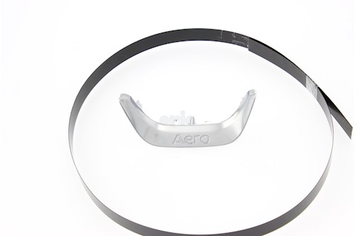 Steering Wheel Trim - Lower (Silver, Aero)