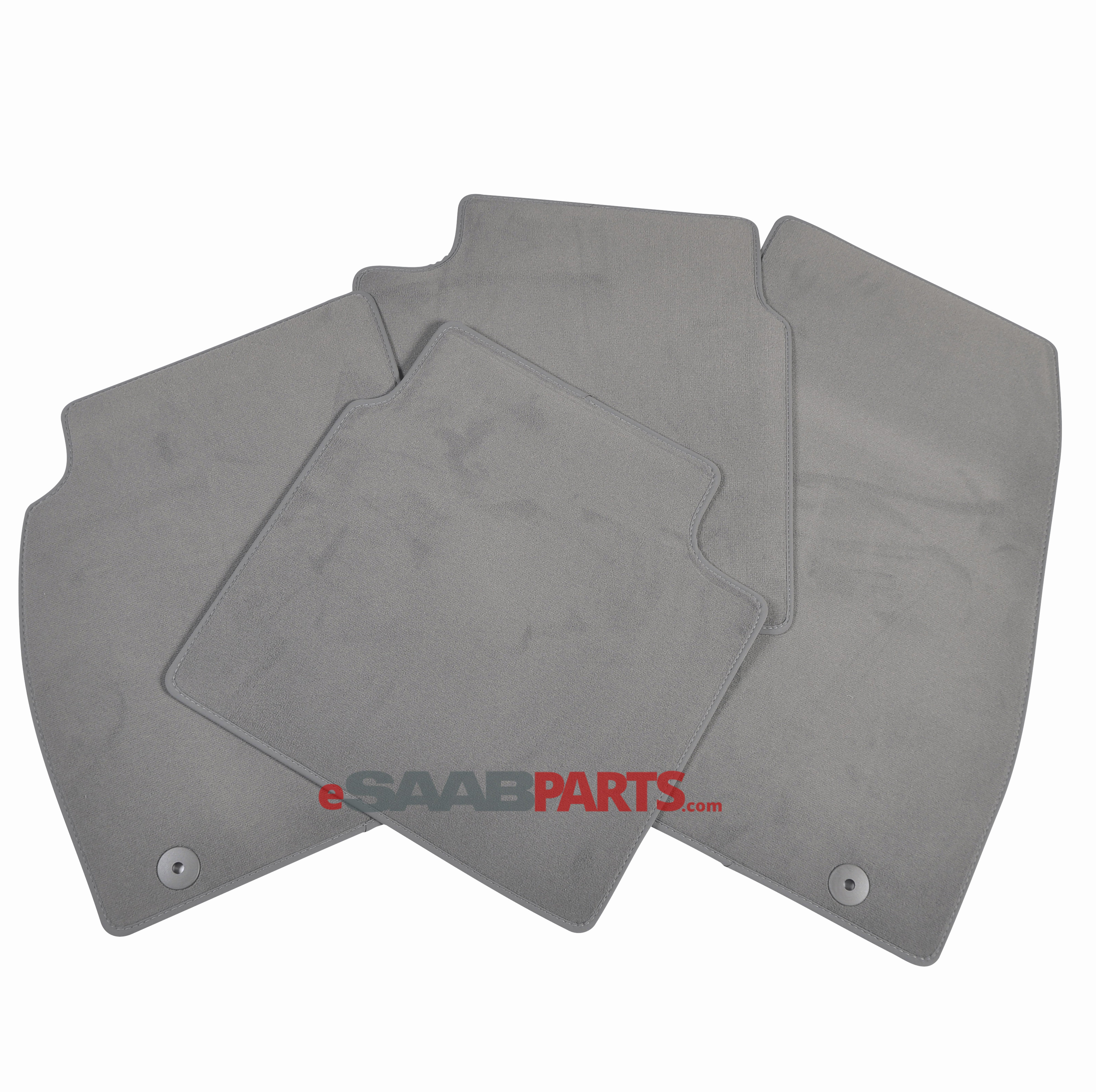 Floor Mat Set (Dark Pewter)