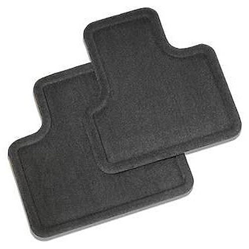 9-7X Floor Mats - Rear (Carpet, Ebony)