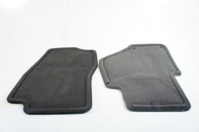 9-7X Floor Mats - Front (Carpet, Ebony)