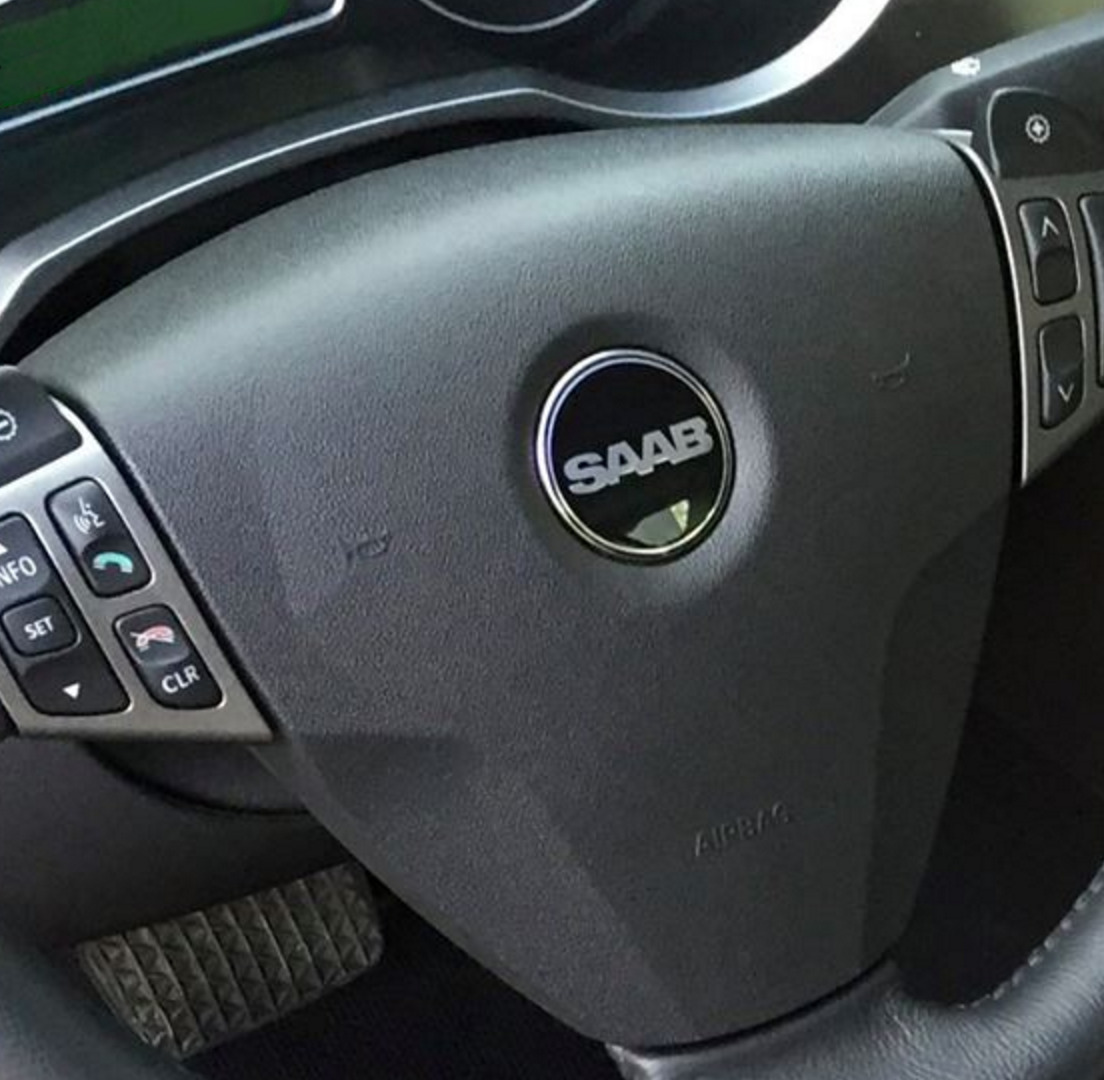 2100006  saab nevs 9-3 airbag  steering wheel