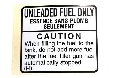 Label-fuel