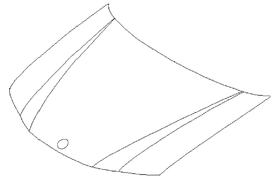 9-2X Hood - Linear (2005-2006)