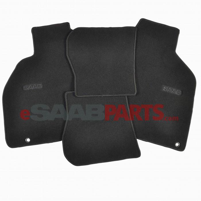 Floor Mat Set - Black (99-03 9-3 Convertible)