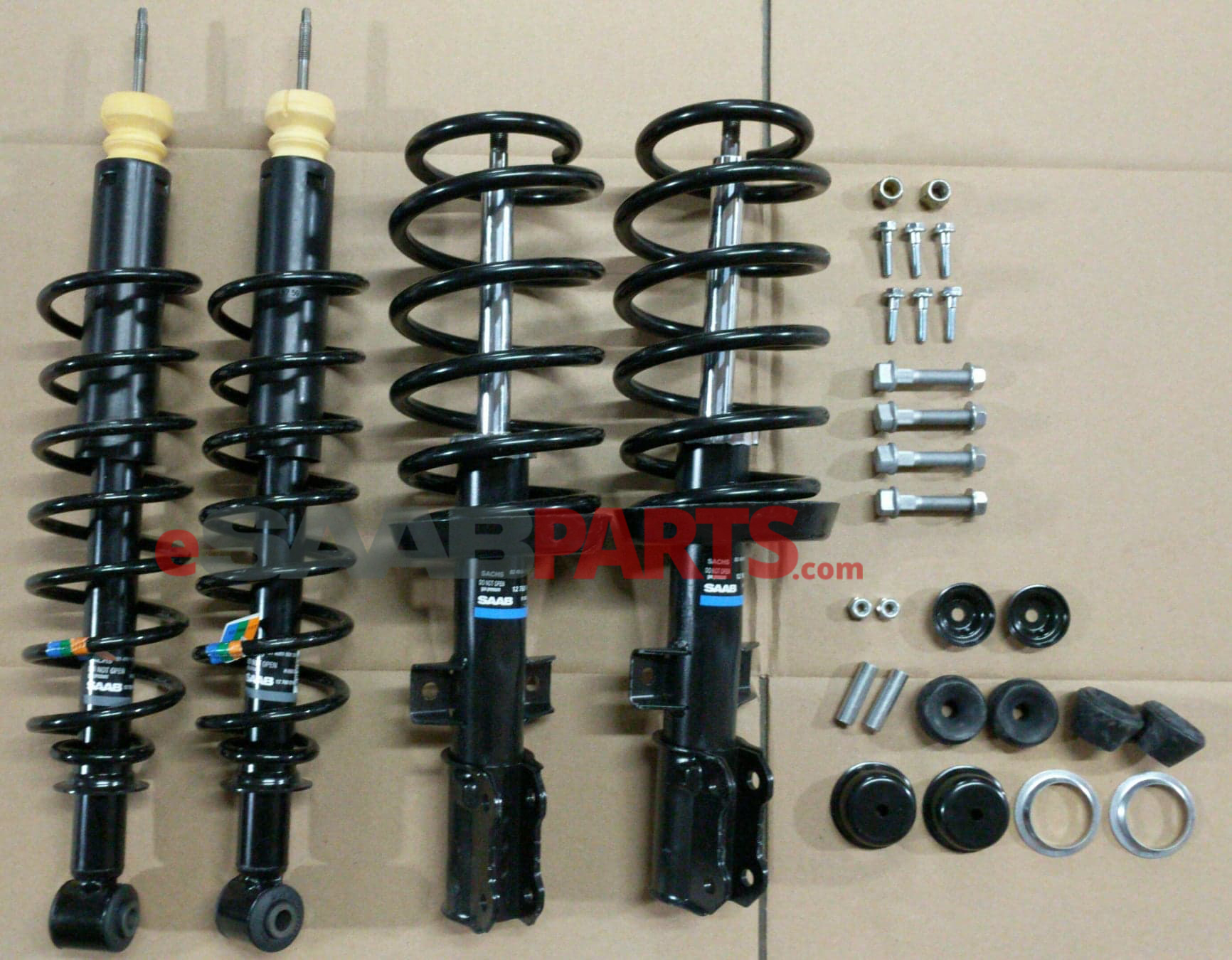 Saab 9-5 Front & Rear Suspension Kit (2002-2009 5D Wagon w/ Sport Chassis)