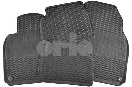 SAAB Rubber All-Season Floor Mat Set (2008-2011)
