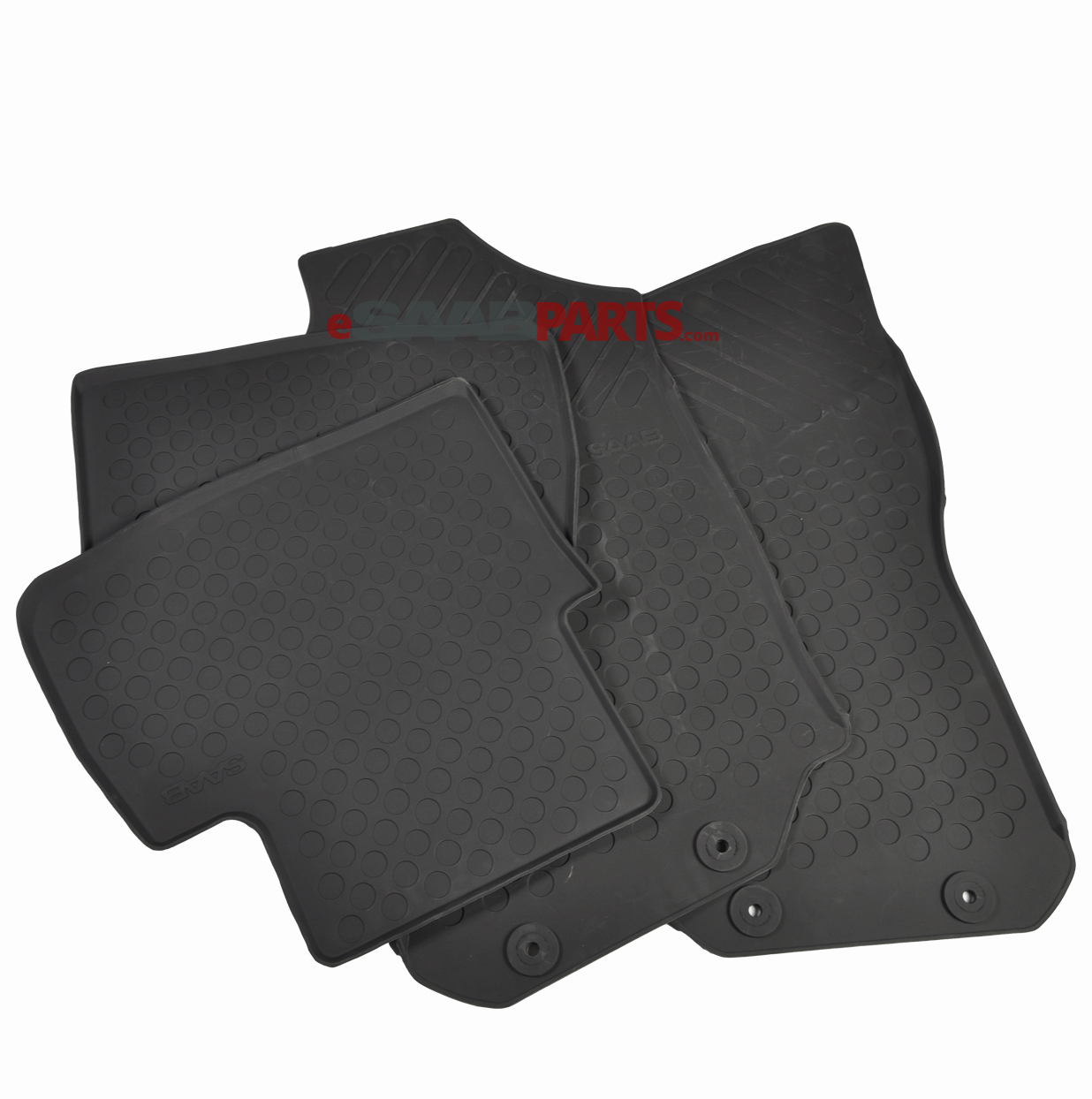 Rubber Floor Mats Set (9-5) 1999-2007