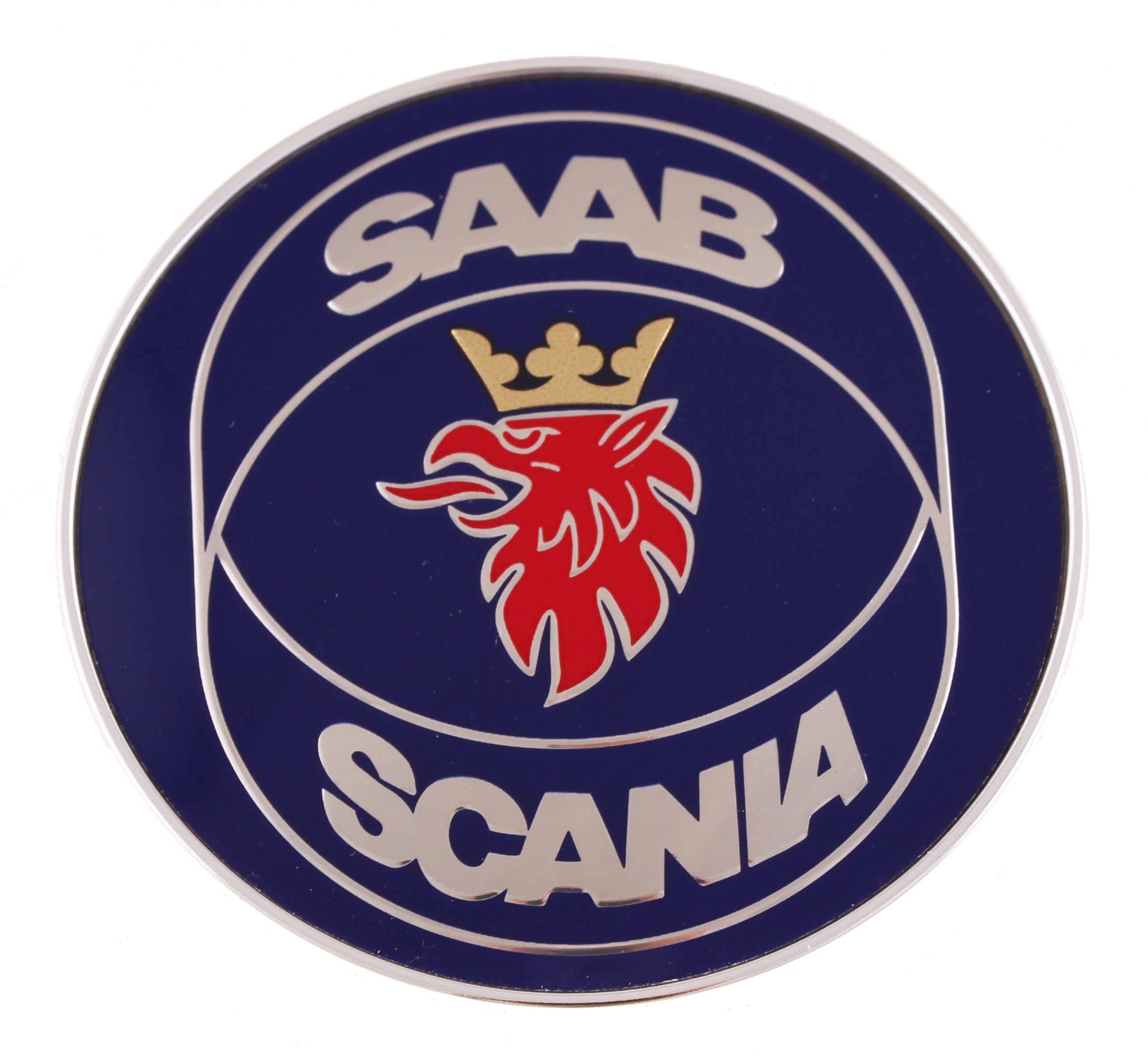4911574     SAAB    Emblem     Saab    Parts from eSaabParts