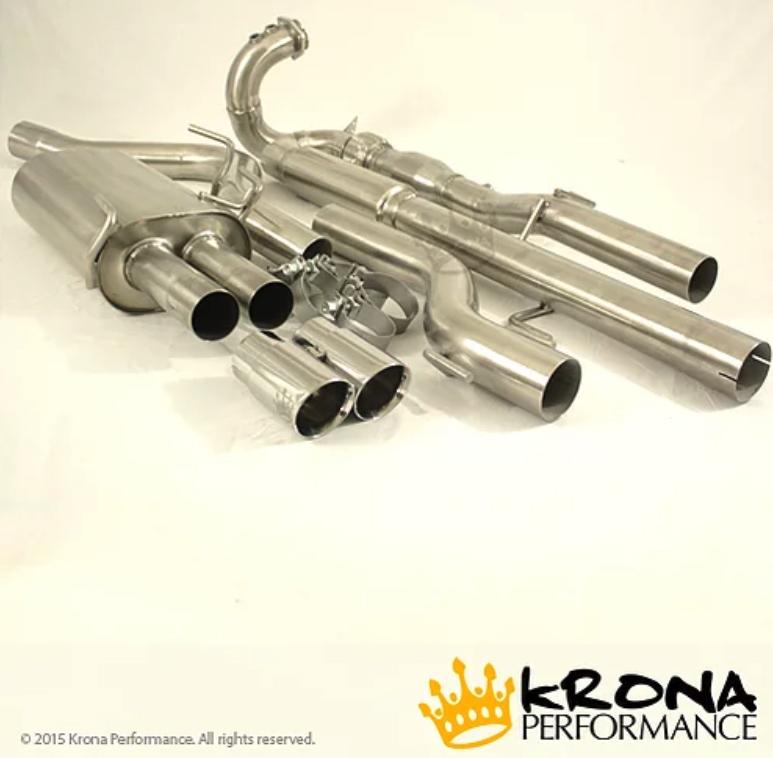 "9-5 Stainless Steel 3"" Turbo Back Exhaust Kit (Catless)"