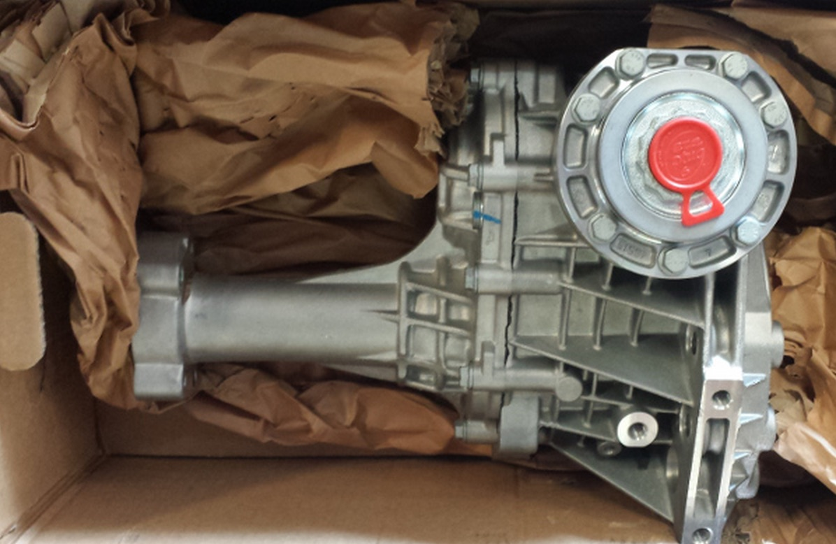 55573146  saab transfer case  xwd