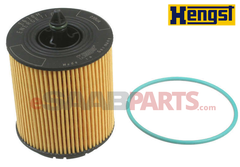 Oil Filter Insert with O-Ring B207/A20NFT [HENGST] Saab 12605566 OEM Supplier