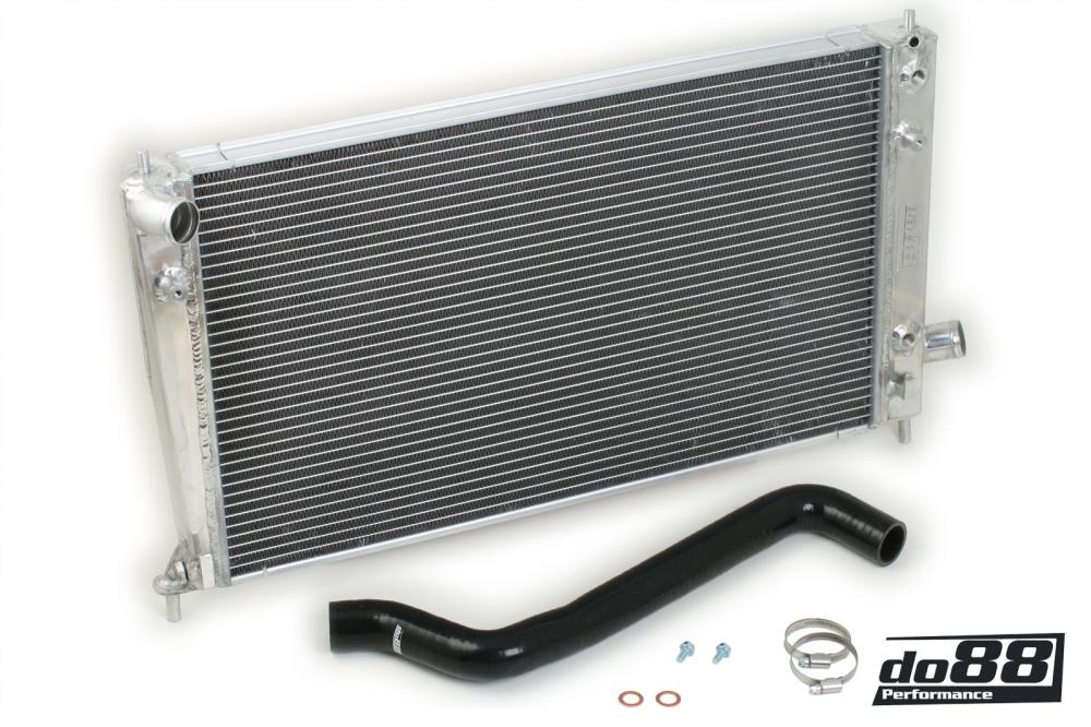 DO88 Aluminum Radiator (99-01) (9-5 2.3T) (Black) [WC-270-S]