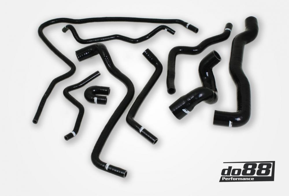 DO88 Coolant Hose Kit T7 (9-3OG) (Black) [KIT101S]