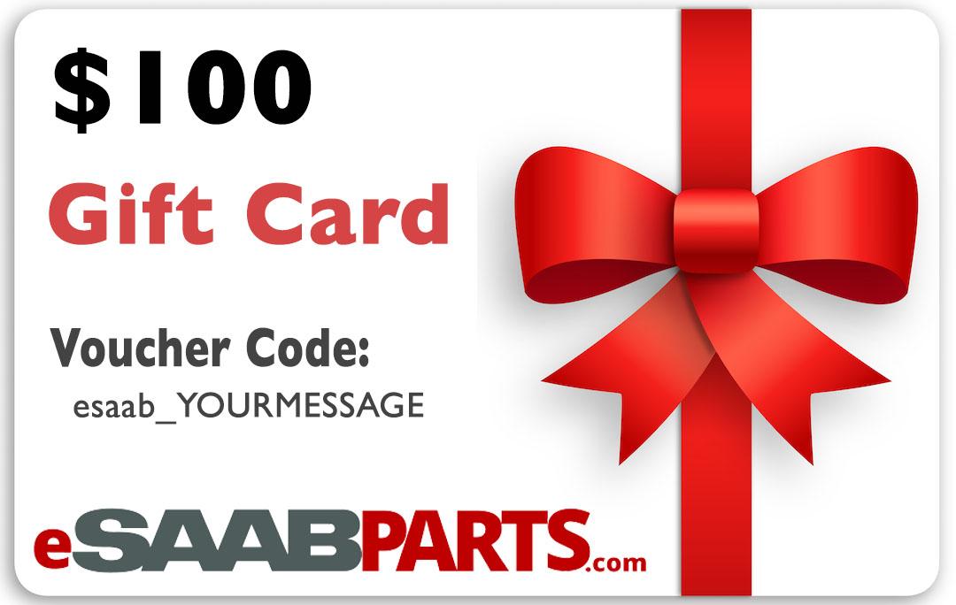 eSaabParts.com Gift Certificate - 100.00 USD