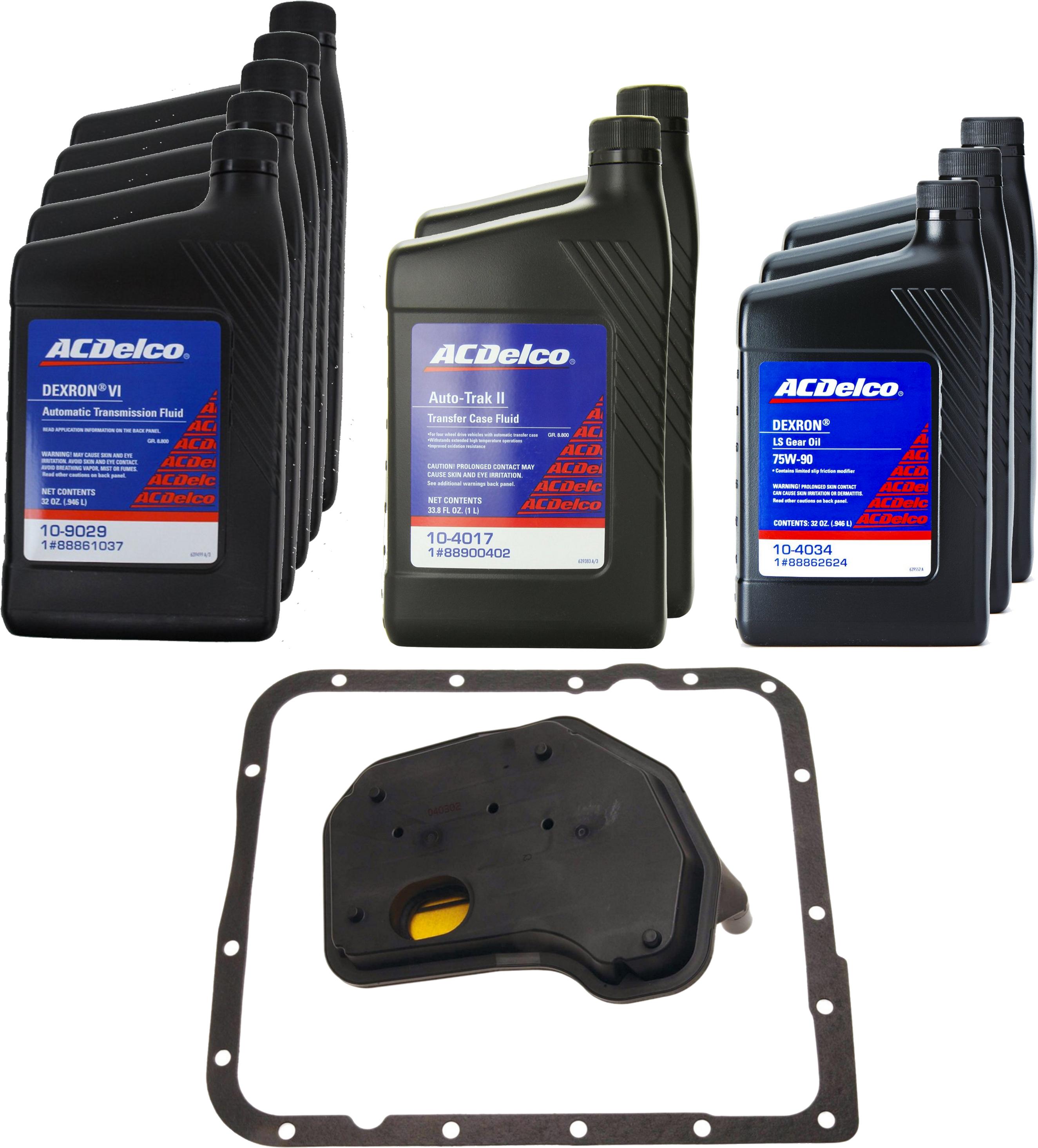 [87000001] SAAB 9-7X Drivetrain Service Kit (4.2L/5.3L ...
