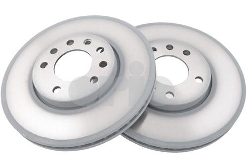 Brake Rotors/Discs Kit (2x) - Front - 285mm