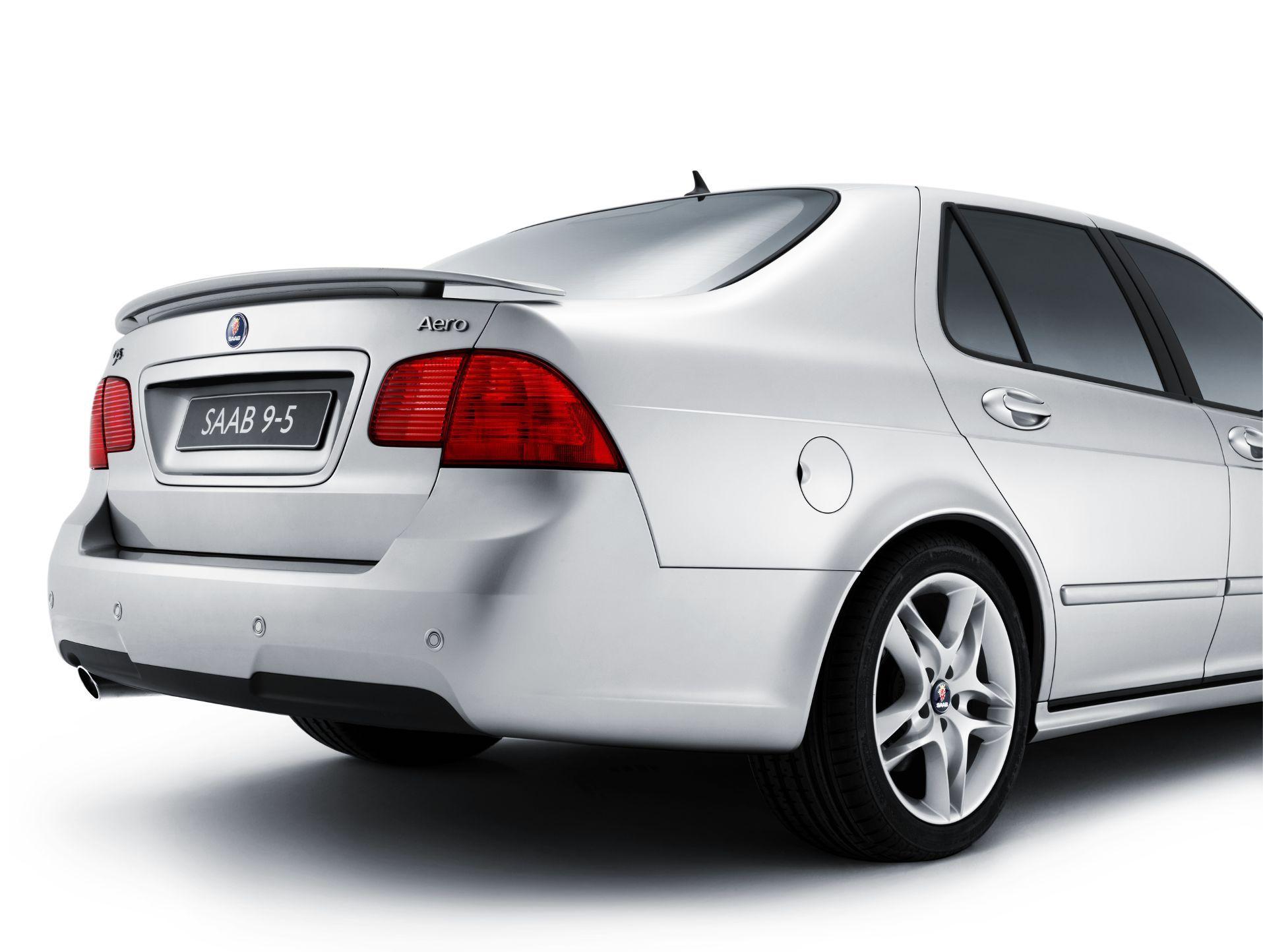 Rear Trunk Spoiler (9-5 Sedan 06-09)